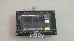 Mini1300 4.3inch Touch screen 0.1-1300MHz HF VHF UHF ANT SWR Antenna Analyzer
