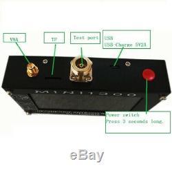 Mini1300 Antenna Analyzer Meter for 2 Way Radio 4.3 0.1-1300MHz HF/VHF/UHF SWR
