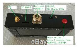 Mini1300 HF/VHF/UHF Antenna Analyzer 0.1-1300MHz with4.3 TFT LCD Touch Screen SWR