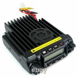 Mobile Car Radio Retevis RT-9000D VHF 220-260MHz 200CH 8 Groups Scrambler Alarm