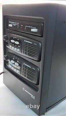 Motorola CDR700 Crossband Repeater RX UHF 403-470 MHz TX VHF 136-174 MHz
