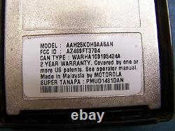 Motorola HT1250 VHF AAH25KDH9AA6AN 136-174MHz 128 Channel Mint Tested