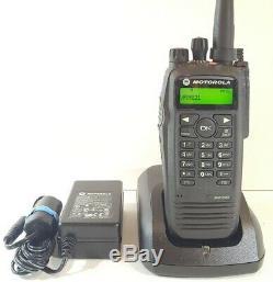 Motorola MOTOTRBO XPR6550 UHF 450-512 MHz Digital DMR Radio AAH55TDH9LA1AN