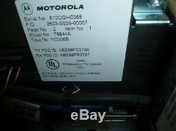 Motorola MTR2000 T5544A 100w Base Station Repeater 132-174 150-174 MHz VHF