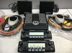 Motorola XTL2500 800mhz P25 Digital Mobile Radio Dual Heads M21URM9PW1AN XTL 800