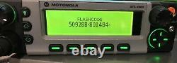 Motorola XTL5000 800Mhz Dual Remote mobile radio M20URS9PW1AN 509288-801484-9