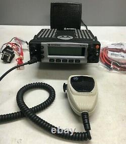 Motorola XTL5000 800Mhz P25 Digital mobile radio M20URS9PW1AN 509288-801484-9