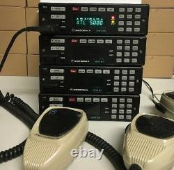 Motorola XTL5000 P25 700 800 Mhz P25 9600bd Digital Radio M20URS9PW1AN W7 head