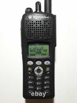 Motorola XTS2500 VHF P25 Digital RADIO withFPP 136-174MHz ADP AES-256 Updated F/W