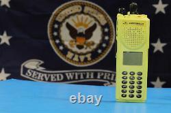 Motorola XTS3000 III UHF 450-512MHz XTS 3000 Astro P25 H38 New Yellow Housing