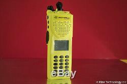 Motorola XTS3000 III VHF 136-174MHz Astro XTS 3000 with New Yellow Housing