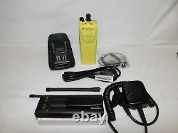 Motorola XTS3000 VHF 136-174mhz P25 Digital Portable Radio AES-256 DES-OFB XL