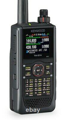 NEW Kenwood TH-D74A 144/220/430 MHz TRIBANDER FREE Shipping