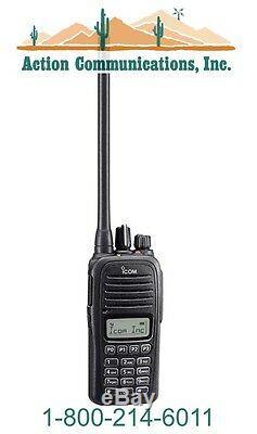 New Icom Ic-f1000t Rc, Vhf 136-174 Mhz, 5 Watt, 128 Channel Two Way Radio