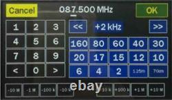 New Mini1300 0.1-1300MHz HF VHF UHF Antenna SWR Meter Vector Network Analyzer
