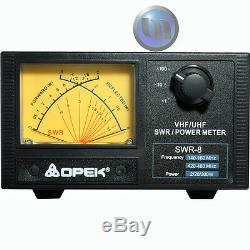 OPEK UHF/VHF SWR POWER METER VHF 140-160Mhz UHF 420-460Mhz
