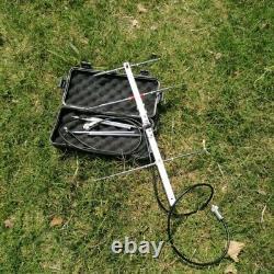 Portable U/V Pocket Yagi Antenna VHF 76-350Mhz 6DBI UHF 250-500Mhz 8DBI