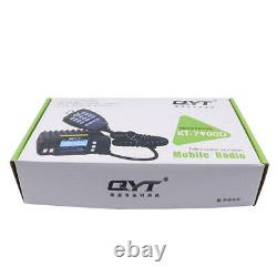 QYT KT-7900D 25W Quad Band Mobile Radio Walkie Talkie 144/220/350/440MHZ 4 Bands