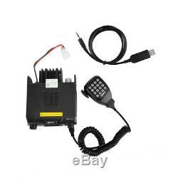 QYT KT-980 Plus VHF 136-174mhz UHF 400-480mhz 75W Dual Band Mobile Car Radio