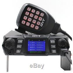 QYT KT-980Plus 75W Dual Band 136-174&400-480mhz Two Way Radio DTMF FM radio