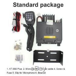 QYT KT-980Plus Two Way Radio Dual Band 136-174MHz & 400-480MHz FM Transceiver