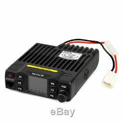 Retevis RT95 Mobile Car Radio UHF+VHF 144-148/430440MHz 25W CTSCC/DCS 200CH US
