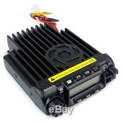 Retevis VHF 220-260MHz 60W 200CH Mobile Car Ham Radio Transceiver 8 Scrambler