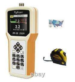 RigExpert AA-35 ZOOM 0.06-35MHz Antenna Analyzer with FREE Radiowavz Antenna Tape