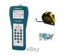 RigExpert AA-600 Antenna Analyzer 0.1 600MHz with FREE Radiowavz Antenna Tape