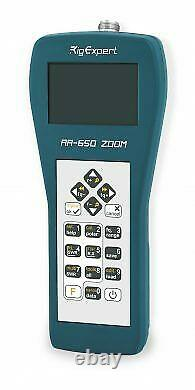 RigExpert AA-650 Zoom Antenna Analyzer for 0.1 650MHz with BT & N-Type Conn