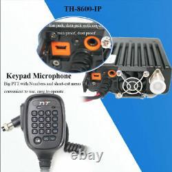 TYT TH-8600 IP67 Waterproof Dual Band 136-174MHz/400-480MHz 25W Amateur Radio