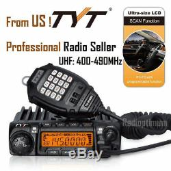 TYT TH-9000D 450-460MHz UHF 45With25With10W 200CH Car Mobile Transceiver Radio CTCSS
