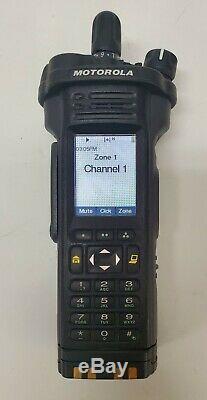 Tested Motorola Apx7000 Xe Uhf 450-520, Vhf 136-174 Mhz Digital Radio P25 Fpp
