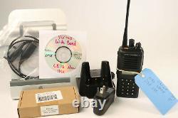 Vertex VX-P929 UHF 380-450MHz & VHF RX only Analog & P25 Loaded