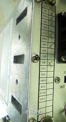 Watkins Johnson WJ86188 20mhz 1000mhz Ham Radio VHF UHF Communication Receiver