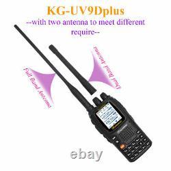 Wouxun KG-UV9D plus Air band receive VHF136-174MHz&UHF400-512MHz Dual Band Radio