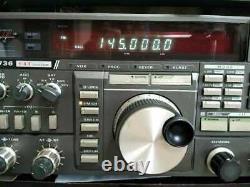 YAESU FT-736M VHF/UHF All Mode 144/430MHz Amature Ham Radio Transceiver