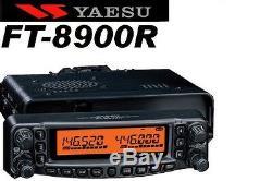 YAESU FT-8900R QUADBAND 29/50/144/430 MHZ VHF/UHF FULL Authorized Yaesu Dealer