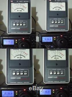 YAESU FT-897D RADIO HF/50/144/430MHz 100/50/20W All Mode confirmed it works Mic