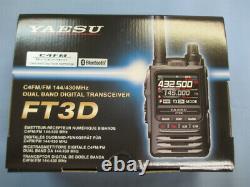 YAESU FT3D C4FM FM Digital Analog 144/430MHz Handy Transiter New In Box