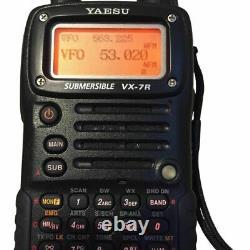 YAESU VX-7R B3 Black 50/144/430 MHz 5W SUBMERSIBLE Handheld Radio
