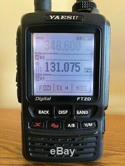 Yaesu FT-2DR 144/430 Mhz Digital/Analog Transceiver With MARS Mod Extras