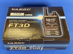 Yaesu FT-3DR C4FM/FM 144/430MHz 5W Dual Band Digital HT Touchscreen Transceiver