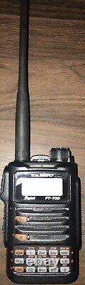 Yaesu FT-70DR C4FM FDMA/FM 144/430 MHz Dual Band 5W Handheld Transceiver/extras