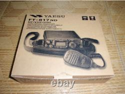 Yaesu FT-817ND Compact Transceiver HF / 50 /144 / 430MHz All Mode From Japan
