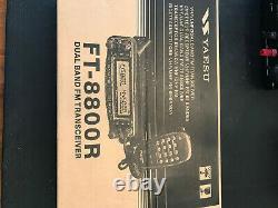 Yaesu FT-8800 VHF/UHF 144/440mhz Mobile Radio with original box manual