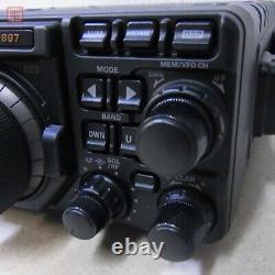 Yaesu FT-897D HF band /144/430MHz 100W / 50W / 20W Ham Radio transceiver Japan