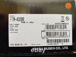 Yaesu FTM-400DR C4FM FDMA / FM 144/430 MHz Dual Band Mobile Transceiver NIB