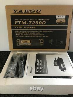 Yaesu FTM-7250DR Dual Band 144/430MHz Digital Moblie Transceiver, Open Box, Mint