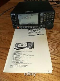 Yaesu VR-5000 Shortwave AM FM VHF UHF SSB ham Radio Receiver 100 KHz-2600 MHz